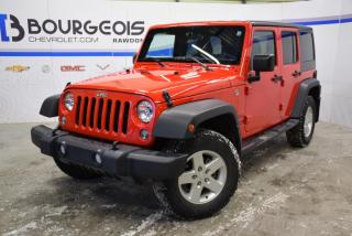 Used 2016 Jeep Wrangler Sport A/c for sale in Rawdon, QC