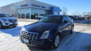 Used 2013 Cadillac CTS Sedan Luxury for sale in Arnprior, ON