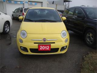 Used 2012 Fiat 500 Sport for sale in London, ON