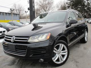 Used 2012 Volkswagen Touareg 3.0 TDI EXECLINE~89KM~NAVIGATION~LOW KM~PANO ROOF for sale in Burlington, ON