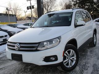 Used 2015 Volkswagen Tiguan ONE OWNER ~ 96, 000KMS ~ 6 SPEED !!! for sale in Burlington, ON