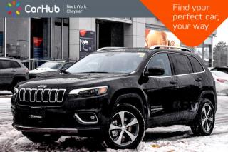 New 2019 Jeep Cherokee Limited|New Car|4x4|LED.Pkgs|Adv.Safety.Pkg|Cold.Wthr.Pkg|18