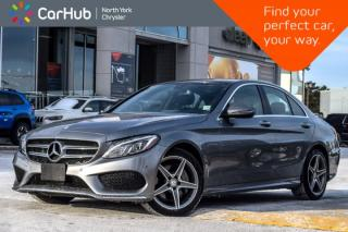 Used 2016 Mercedes-Benz C-Class C 300|AWD|Parking Pkgs|Memory Pkg|Pano_Sunroof|18