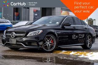 Used 2016 Mercedes-Benz C-Class C63S AMG|PanoSunroof|Burmester|Nav|HeatFrntSeats for sale in Thornhill, ON
