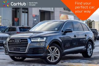 Used 2017 Audi Q7 3.0T Technik|AWD|Pano_Sunroof|Nav|Backup Cam|Keyless_Entry|20