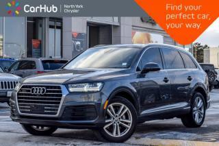 Used 2017 Audi Q7 3.0T Technik|AWD|Pano_Sunroof|Nav|Backup Cam|Keyless_Entry|20