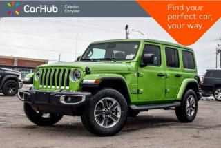 New 2019 Jeep Wrangler Unlimited New Car Sahara|4x4|Power Sky Roof|Navi|Backup Cam|Bluetooth|R-Start|Leather|Blind Spot|18