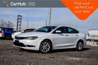 Used 2015 Chrysler 200 C|Navi|Pano Sunroof|Backup Cam|Bluetooth|R-Start|Heated Front Seats|Leather|17
