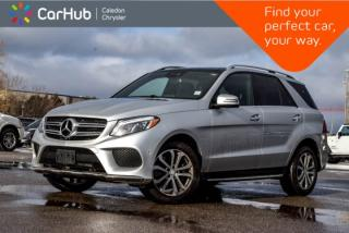 Used 2016 Mercedes-Benz GLE GLE 400 4Matic|Navi|Pano Sunroof|Backup Cam|Bluetooth|Leather|19