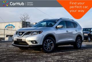 Used 2016 Nissan Rogue SL AWD|Navi|Sunroof|Backup Cam|Bluetooth|Blind Spot|Heated Front Seats|Leather|18
