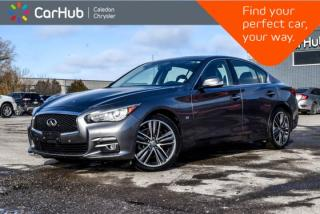 Used 2015 Infiniti Q50 AWD|Navi|Sunroof|Bluetooth|Backup Cam|Pwr windows|Pwr Locks|Push Start|17