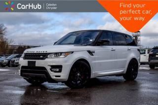 Used 2016 Land Rover Range Rover Sport V8 SC Dynamic 4x4|Navi|Pano Sunroof|Backup Cam|Bluetooth|Leather|20