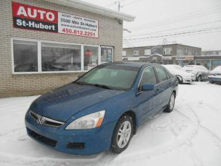 Used 2007 Honda Accord SE ** 4CYL/AUTO ** for sale in St-Hubert, QC