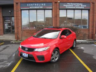 Used 2010 Kia Forte Koup EX / AUTOMATIC / 85,175 KMS FROM NEW! / SUNROOF / $6,995+HST+LIC FEES CERTIFIED for sale in North York, ON