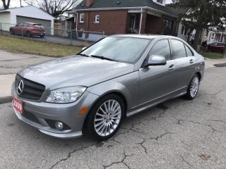 Used 2009 Mercedes-Benz C-Class for sale in Hamilton, ON