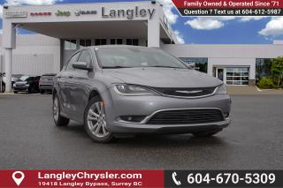 Used 2015 Chrysler 200 Limited *BLUETOOTH* for sale in Surrey, BC