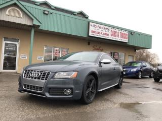 Used 2011 Audi S5 4.2 Premium RED INTERIOR!! CARBON FIBER TRIM!! for sale in Bolton, ON