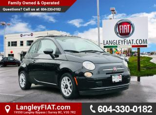 Used 2013 Fiat 500 Pop 5 SPEED MANUAL, LOW KM! NO ACCIDENTS, B.C OWNED! for sale in Surrey, BC