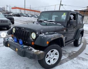 Used 2013 Jeep Wrangler SPORT for sale in Ottawa, ON