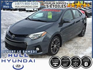 Used 2015 Toyota Corolla S T.ouvrant for sale in Gatineau, QC