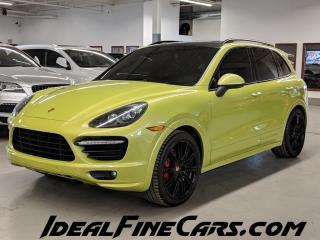 Used 2014 Porsche Cayenne GTS/V8/GREEN BELTS/GREEN STITCHING/SUEDE/CARBON FIBER! for sale in Toronto, ON