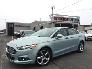 Used 2014 Ford Fusion Hybrid SE - NAVI - REVERSE CAM - HTD SEATS for sale in Oakville, ON