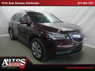Used 2014 Acura MDX Sh-Awd + Elite for sale in Sherbrooke, QC