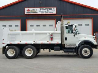 Used 2004 International 7500 Diesel Dump Truck DT530 300HP for sale in Jarvis, ON