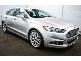 Used 2013 Ford Fusion Titanium Awd Caméra for sale in St-Jean-Sur-Richelieu, QC