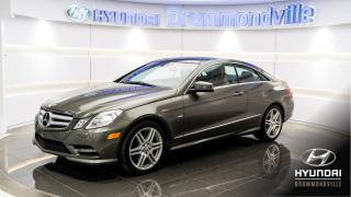 Used 2012 Mercedes-Benz E350 GARANTIE + NAVI + TOIT PANO + PREMIUM PA for sale in Drummondville, QC