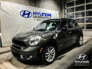 Used 2011 MINI Cooper Countryman ALL4 S + GARANTIE + TOIT PANO + MAGS + W for sale in Drummondville, QC