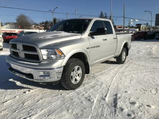 Used 2012 RAM 1500 QUAD CAB 4X4 OUTDOORSMAN for sale in Sherbrooke, QC