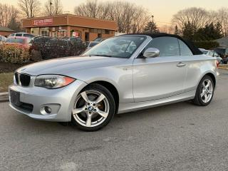 Used 2012 BMW 1 Series 128i CONVERTIBLE-XENON LIGHTS-LEATHER-BLUETOOTH for sale in Mississauga, ON