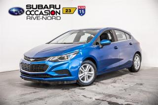 Used 2017 Chevrolet Cruze LT HATCH+MAGS+SIEGES for sale in Boisbriand, QC