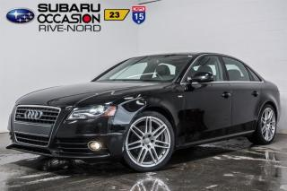 Used 2012 Audi A4 QUATTRO 2.0T PREMIUM for sale in Boisbriand, QC