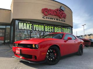 Used 2015 Dodge Challenger SRT Hellcat, 707 HORSES NAVI LOW LOW KMS. for sale in Toronto, ON