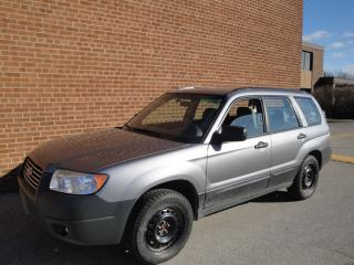 Used 2008 Subaru Forester 2008 Subaru Forester -AWD-2.5X for sale in Oakville, ON