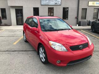 Used 2008 Toyota Matrix XR,SUNROOF!NO ACCIDENTS,SERVICE RECORDS for sale in Burlington, ON