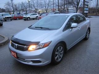 Used 2012 Honda Civic EX-L NAVIGATION for sale in Toronto, ON