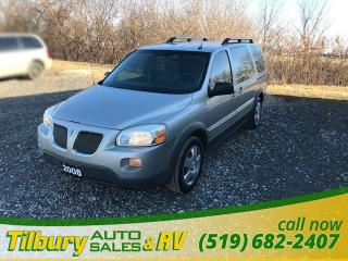 Used 2008 Pontiac Montana w/1SB. **AS IS** for sale in Tilbury, ON