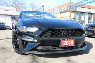 Used 2018 Ford Mustang EcoBoost Premium ACCIDENT FREE for sale in Brampton, ON