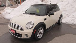 Used 2013 MINI Cooper BRAND NEW TIRES, Automatic !! for sale in Chatsworth, ON