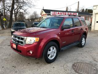 Used 2008 Ford Escape XLT/Certified/Automatic/Accident Free for sale in Scarborough, ON