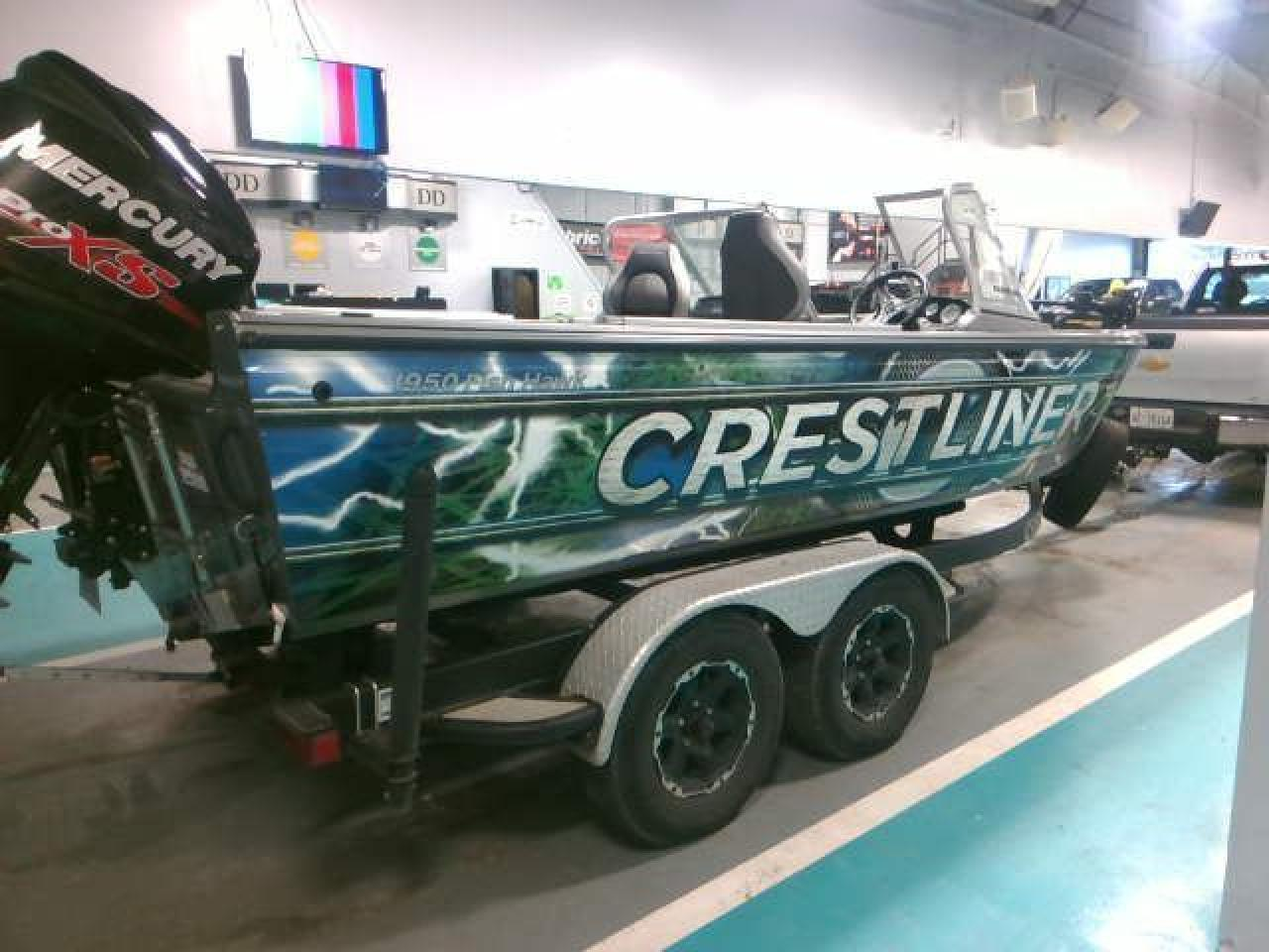 2017 Crestliner FISH HAWK