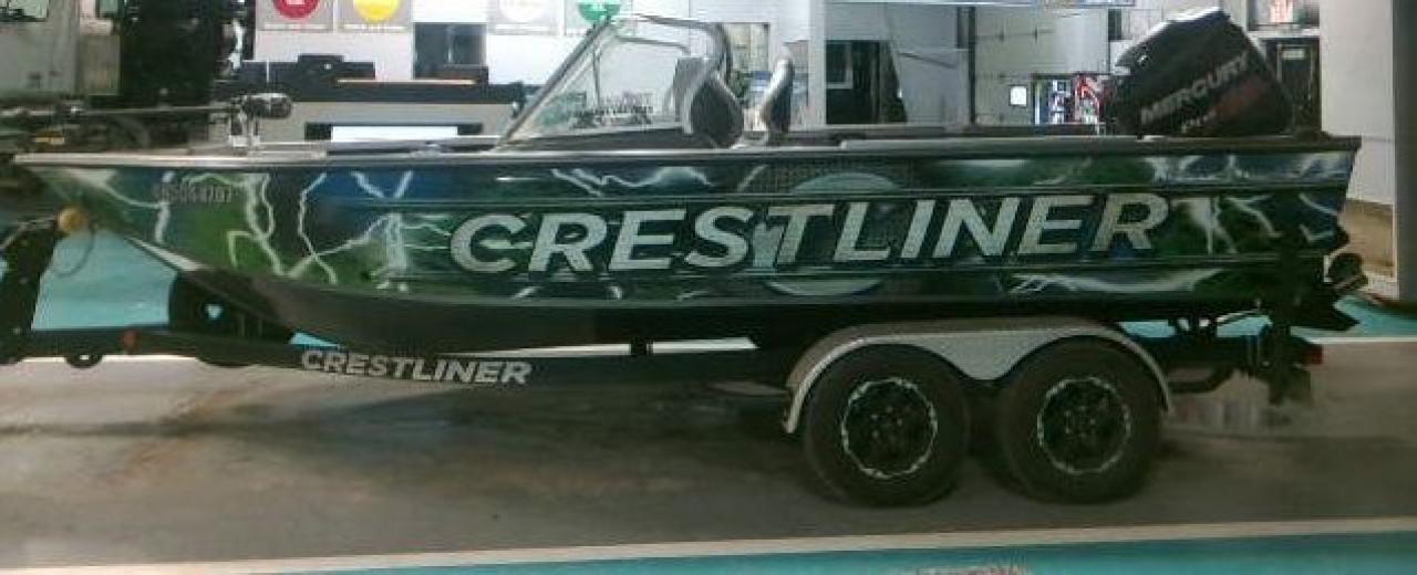 2017 Crestliner FISH HAWK FISH HAWK 1950