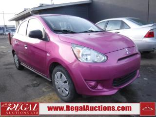 Used 2015 Mitsubishi Mirage 4D Hatchback for sale in Calgary, AB