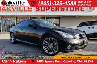 Used 2014 Infiniti Q60 PREMIUM SPORT | AWD | NAV | B/U CAM | LTHR HTD for sale in Oakville, ON