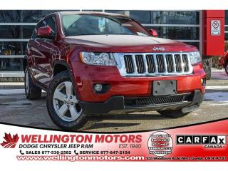 Used 2012 Jeep Grand Cherokee Laredo / Low Kms / AWD / Trailer Tow Pkg ..... for sale in Guelph, ON