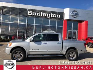 Used 2011 Nissan Titan SL, ACCIDENT FREE, 1 OWNER for sale in Burlington, ON