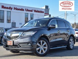 Used 2015 Acura MDX Elite Pkg | Navigation | Leather | DVD for sale in Mississauga, ON